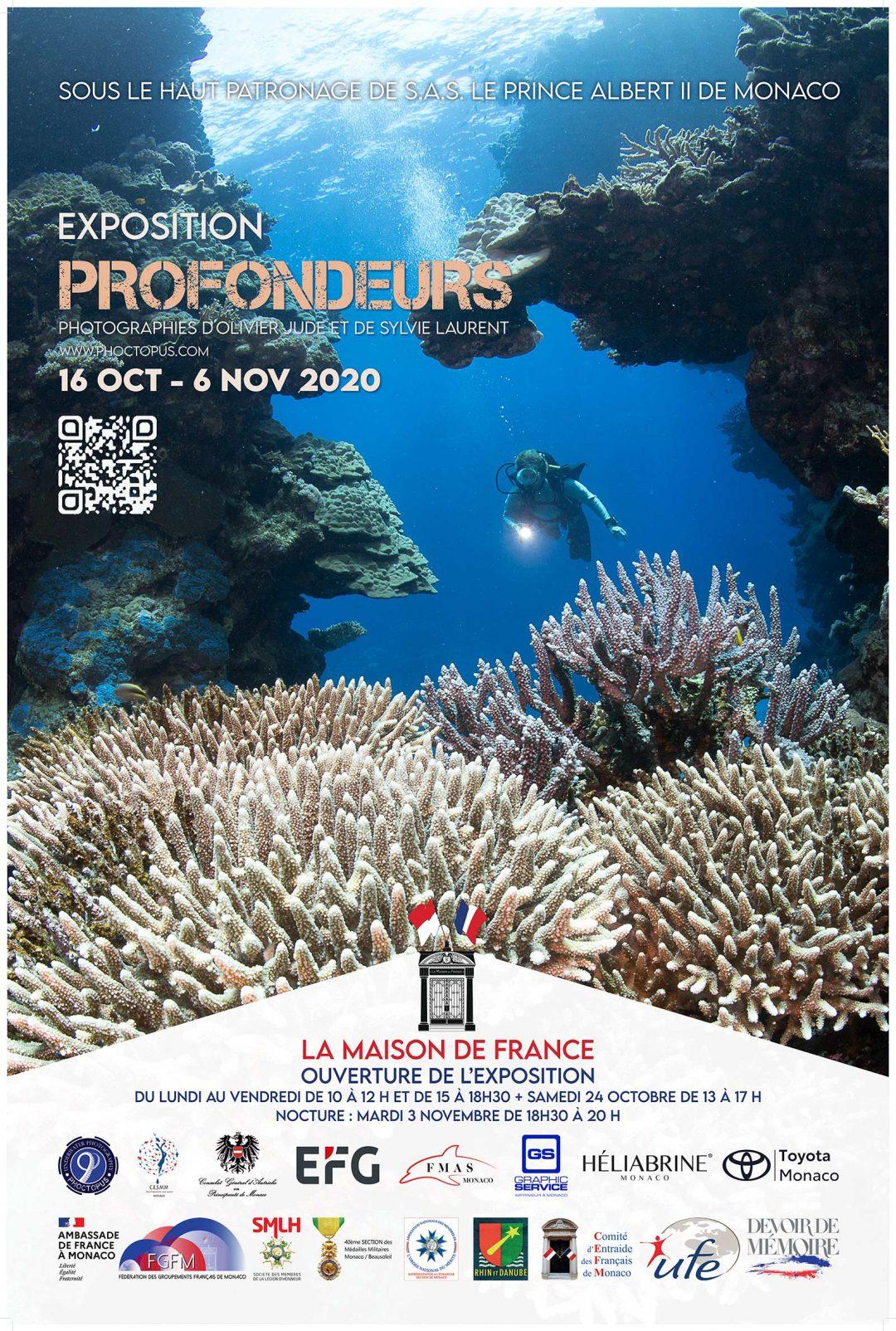 "Exposition ""profondeurs"" 2020"