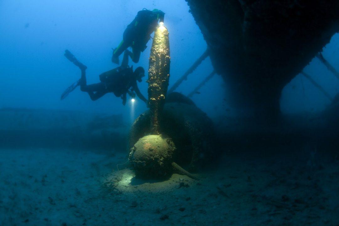 Epave Catalina – Catalina wreck