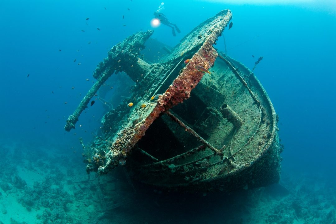 Mer Rouge 2013, les épaves – Red Sea 2013, Wrecks Route