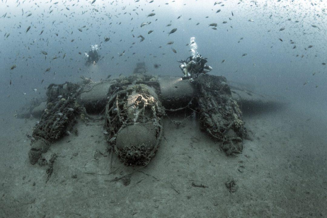 Epave Heinkell – Heinkell wreck
